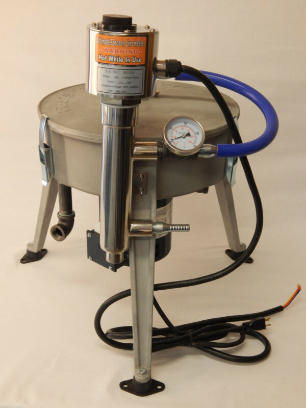 Ultimate Force Centrifuge 120V  W/ Watt Heater Oil, WVO, WMO  Biodiesel