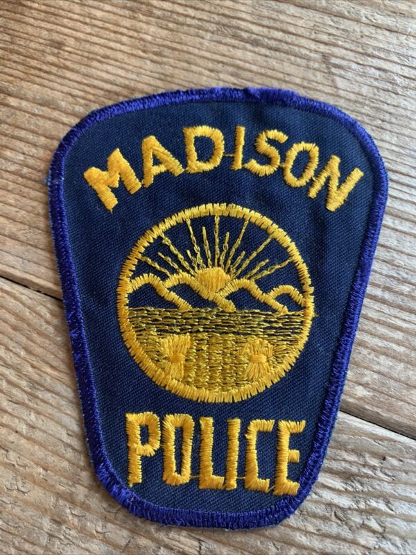 Madison Ohio OH Police Shoulder Patch