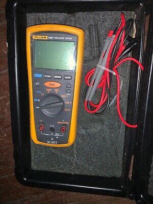 Fluke 1507 Insulation Resistance Metertester