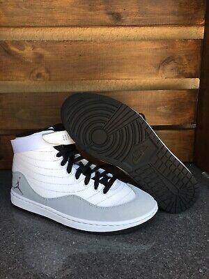 Nike Jordan KO 23 White/Wolf Grey Basketball Shoes AR4493 101 Size 10.5