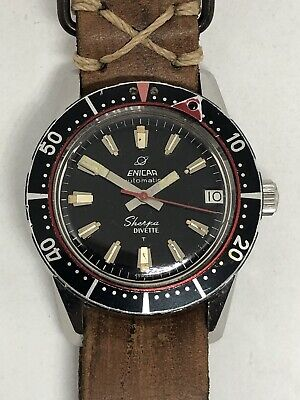 ENICAR AUTOMATIC SHERPA DIVETTE DIVER REF. 565619 CAL. AR1145 BEAURIFUL