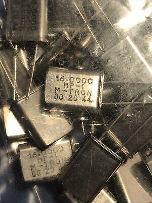 20 Pcs 16 Mhz 16.000 Mhz Crystal Oscillator