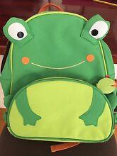 Lovely Frog Kids Backpack Bag for kinder or school Hawthorn Boroondara Area Preview
