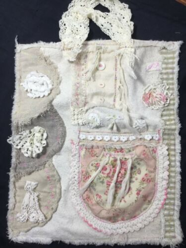 Boho style just a bag lots of linens, Yuwas From Urbangardens My Grma worn Lace