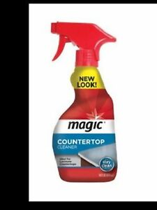 COUNTERTOP MAGIC- SOLID SURFACE CLEANER- CORIAN ETC.
