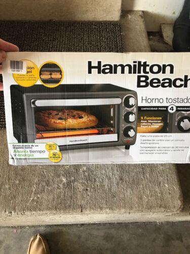 Countertop Toaster Oven Hamilton Beach Model 31148 Removable