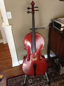 Full sized German made Cello package
