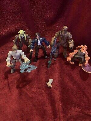 Mashers Star Wars Action Figures Heroes Bundle Skywalker