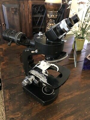 Wild Heerbrugg M20-34965 Microscope With 1.4x Vertical Illuminator And Head