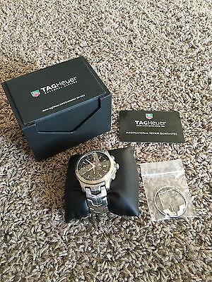 TAG Heuer Link CJF2110 Link Automatic Chronograph Wrist Watch for Men 200 Meters