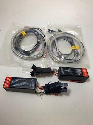4PCS White LED CCFL 6000k Angel Eyes Halo Rings Kit For Mazda 3 6 M3 - Angel Eyes Ccfl Kit
