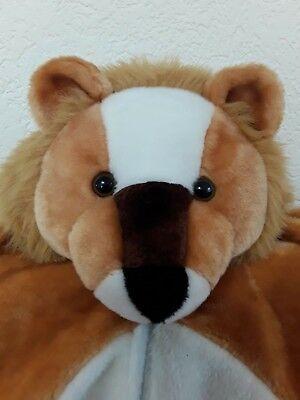 Plüschoveral Löwe Kinderkostüm Faschingskostüm Karnevalskostüm ()