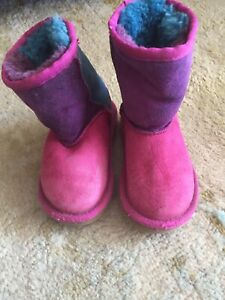 Authentic multicolour toddler Uggs - size 8