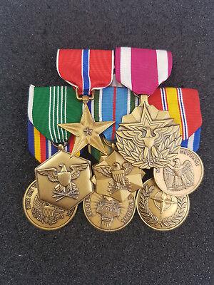 US Große Ordensspange mit Bronze Star Defense Meritorious Service Army 8 Orden