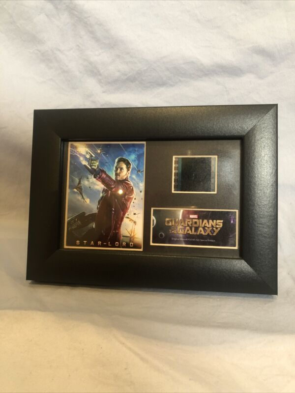 Guardians Of The Galaxy Film Cell Framed Marvel Certified