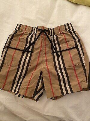 burberry kids boys Shorts