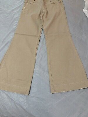 Vintage Abercrombie And Fitch Women's Pants Khaki Size 4 NWT Bell bottoms