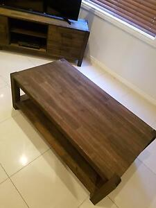 Stained wood Coffee Table Hillcrest Port Adelaide Area Preview