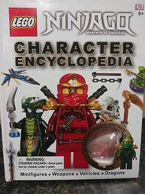 LEGO NINJAGO: Character Encyclopedia NO MINI FIGURE,  Masters of Spinjitzu