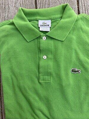 green lacoste polo Size 5 / M