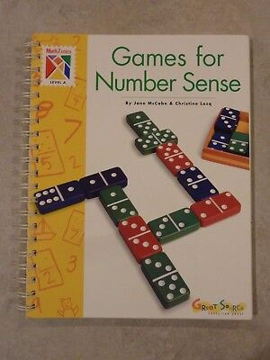 Math Zones: Games for Number Sense (Level A) Grades 1 2 - Great Source Education ()