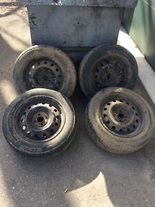 """15"""" Tires With 4 Bolt Rims"""