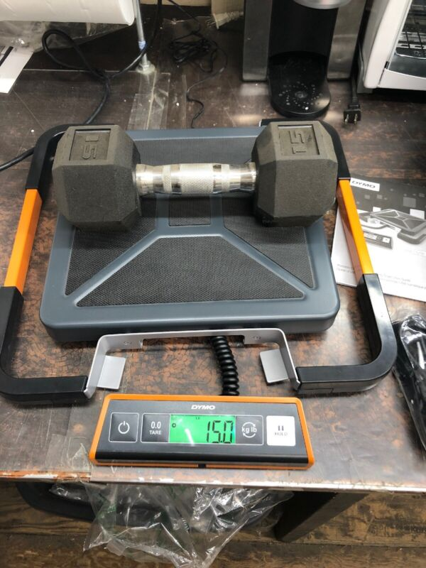 DYMO S400 Portable Digital USB Shipping Scale 400 Lb. 1776113, Barely Used
