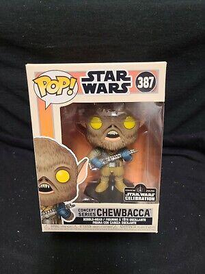 Funko Pop Star Wars Concept Series #387 Chewbacca Celebration Official Sticker
