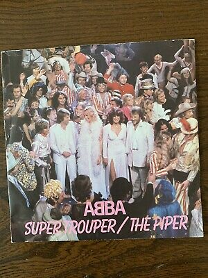 "Abba - Super Trouper 7"" Vinyl Single"