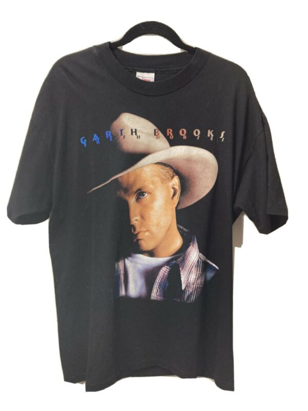 Vintage Garth Brooks Fresh Horses 1996 Tour t-shirt XL
