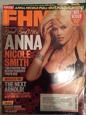 FHM MAGAZINE JULY 2004 ANNA NICOLE SMITH