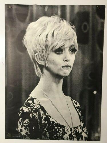 Goldie Hawn Poster 41 x 30 1969 Laugh-In Poster Prints Vintage Original NOS