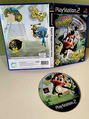 Agent Hugo: LEMON TWIST ** PS2 ** Playstation 2