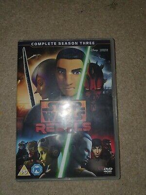Star Wars Rebels Season 3 4 Disc Set