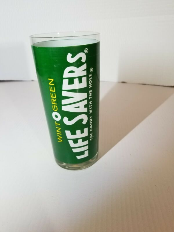 Live Savers Candy WintOgreen Drinking Glass