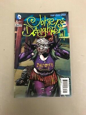 The Dark Knight Batman (BATMAN THE DARK KNIGHT 23.4 JOKERS DAUGHTER LENTICULAR VARIANT First Print DC)