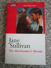 The Matchmaker's Mistake By Jane Sullivan Campbell North Canberra Preview