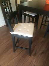 IKEA bar dining table and stools Hampton Bayside Area Preview