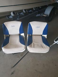 Swivel boat seats for tinny