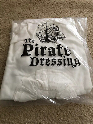 The Pirate Dressing Seigneur Shirt Size S/M Steampunk White Cosplay NEW