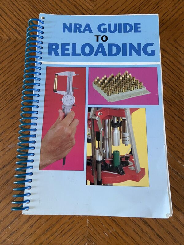 NRA Guide to Reloading 1999