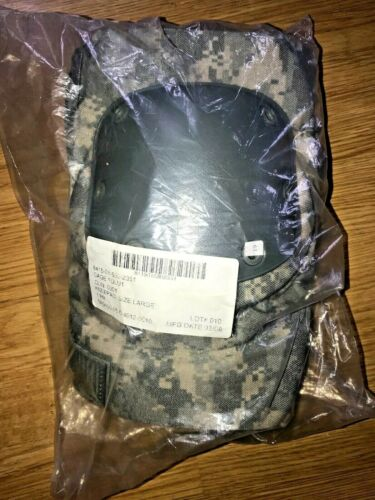 Genuine US Military Issue ACU Universal Camo Tactical Knee Pads SM MED LARG New