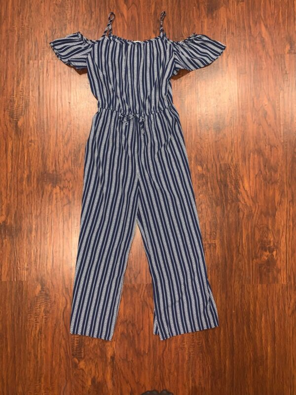 lily blue, summer jumpsuit size 14 in girls, Worn less than 3 times