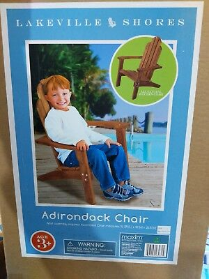 Maxim Child's Adirondack Chair. Kids Outdoor Wood Patio Furniture for ()