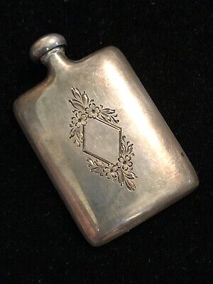 Victorian Perfume Dabber Sterling Engraving, used for sale  Durango