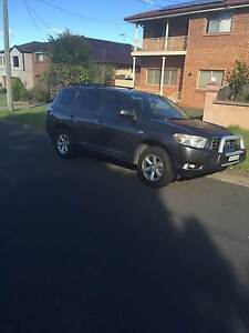 2008 TOYOTA KLUGER KXR AWD 4X4 7 SEATER, 1 OWNER,LOG BOOKS Westmead Parramatta Area Preview