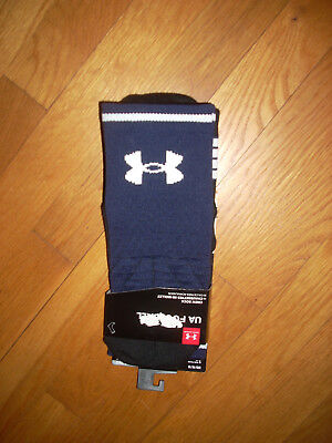 NWT Under Armour PRO Football/ All Sport SOCKS 4-8 Shoes Mens GOLF TENNIS M CREW