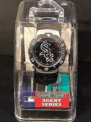 (CHICAGO WHITE SOX Game Time MLB Mens WATCH Agent Series NEW in Original Package)