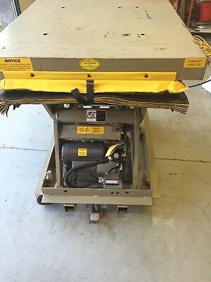 Southworth 4000lb Hydraulic Scissor Lift Table