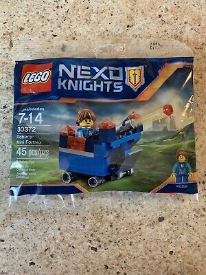 LEGO 30372 Nexo Knights Robin's Mini Fortrex Polybag Sealed FREE Shipping!